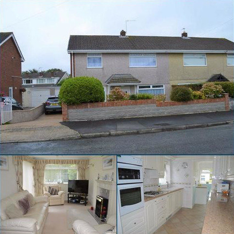 3 bedroom semi-detached house for sale - Snowdon Drive, Swansea, SA5