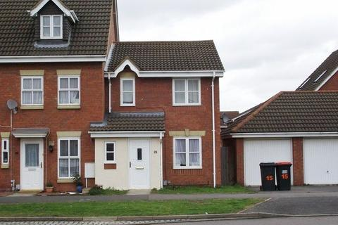 3 bedroom terraced house to rent - Armstrong Drive, Bedford