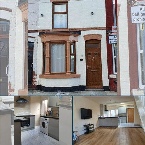 2 bedroom terraced house to rent - Webster Road, Liverpool L7