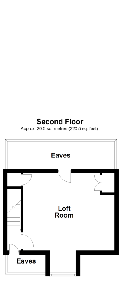 Floorplan 3 of 3: Second Floor