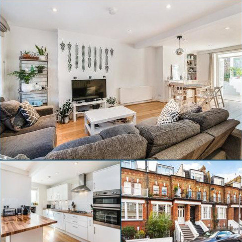 4 bedroom terraced house for sale - St. Dunstans Road, London, W6