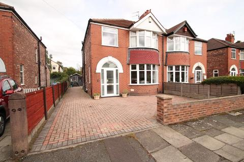 3 bedroom semi-detached house for sale - Norley Drive, Sale, M33 2JE