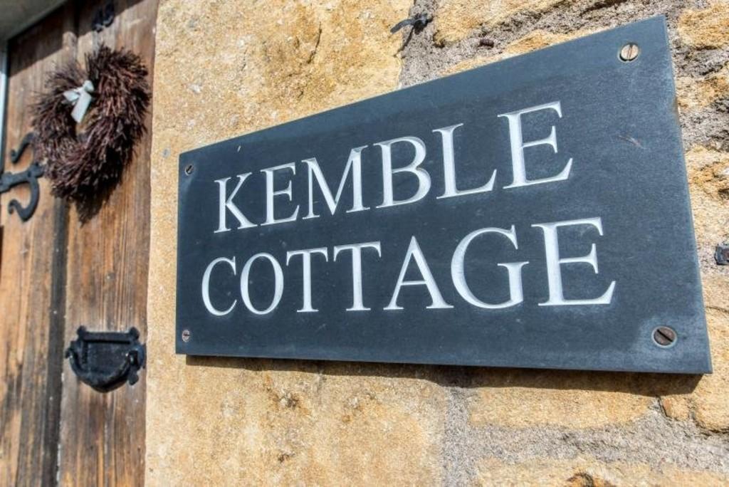 Kemble cottage sign