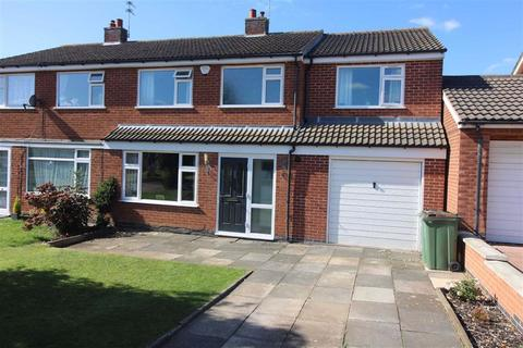 4 bedroom semi-detached house for sale - Windrush Drive, Oadby