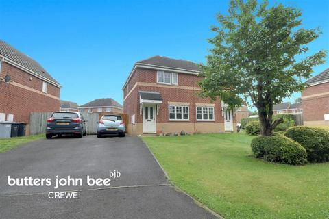 3 bedroom semi-detached house for sale - Conrad Close, Crewe