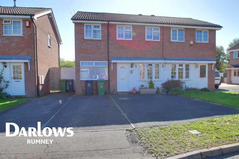 3 bedroom semi-detached house for sale - Glenrise Close, St Mellons, Cardiff