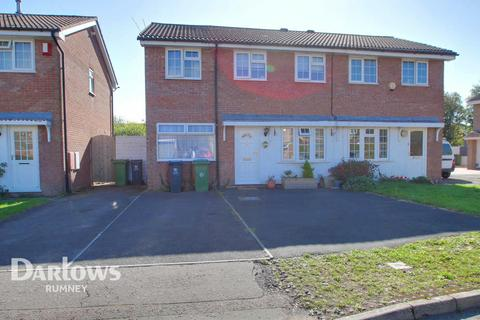 3 bedroom semi-detached house for sale - Glenrise Close, Cardiff