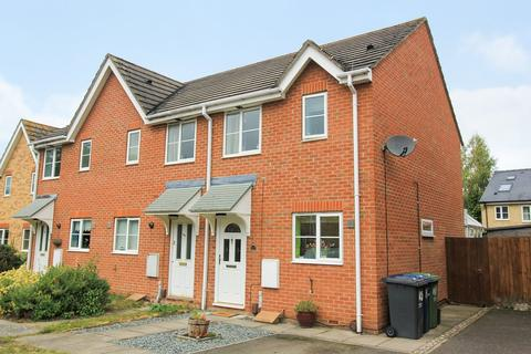 2 bedroom end of terrace house for sale - Saxon Way, Willingham