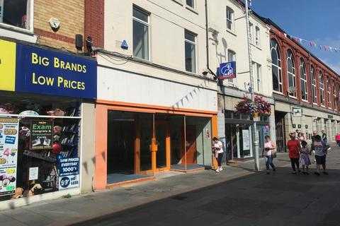 Retail property (high street) to rent - Prime Shop and Premises, 19 Adare Street, Bridgend, CF31 1ET