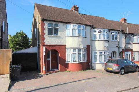 3 bedroom end of terrace house for sale - Chester Avenue, Luton, Bedfordshire, LU4 9SH
