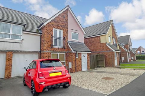 3 bedroom semi-detached house for sale - Coneygarth Place, Ashington, Northumberland, NE63 9FL