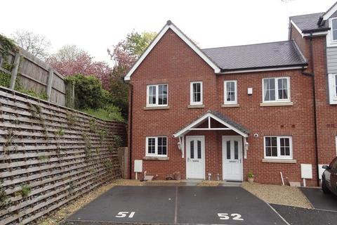 2 bedroom terraced house to rent - Chamberlain Close, Uttoxeter