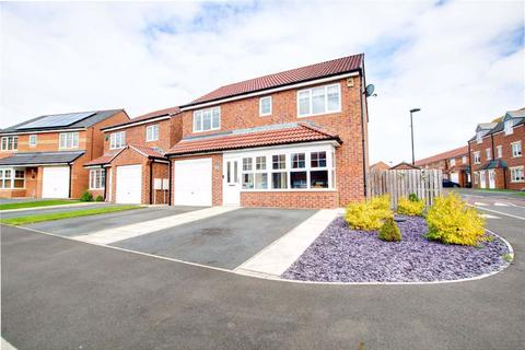 4 bedroom detached house for sale - Cawfields Close, Hadrian Village, Wallsend, NE28