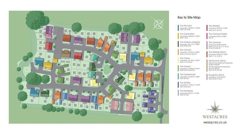 Site plan of development