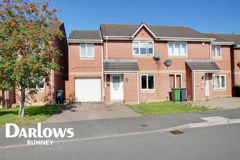 3 bedroom semi-detached house for sale - Harrison Drive, St Mellons, Cardiff
