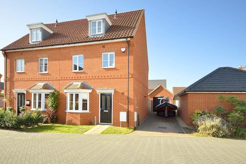 4 bedroom semi-detached house to rent - Lavender Drive, Cringleford