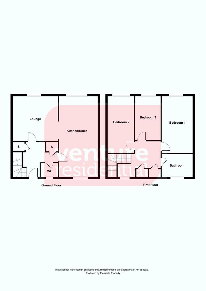 Floorplan: 18 Wexham Close