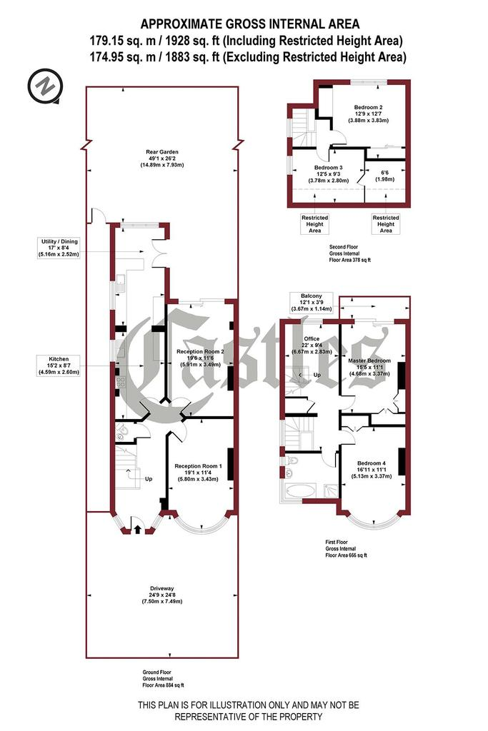 Floorplan: Park Road, N8