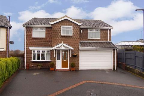 4 bedroom detached house for sale - Arden Close, Hadrian Park, Wallsend, NE28