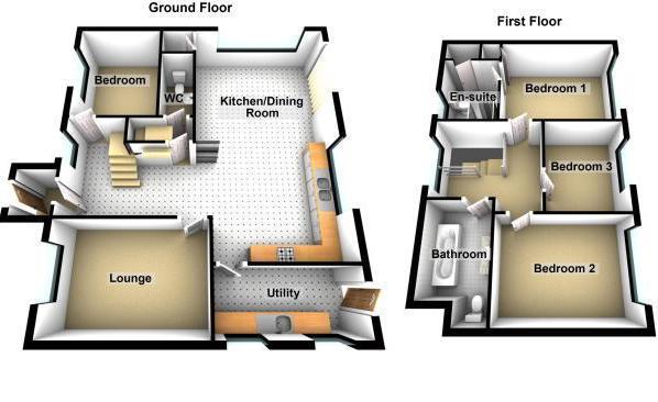 Floorplan: 3 D Floorplan