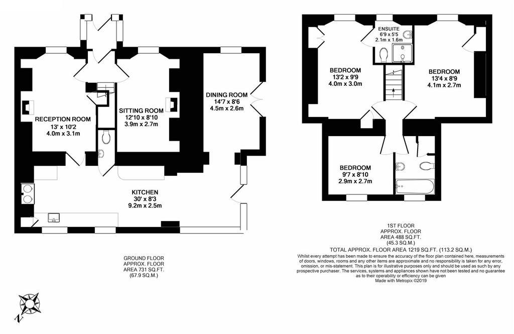 Floorplan: Laburnum Cottage.JPG