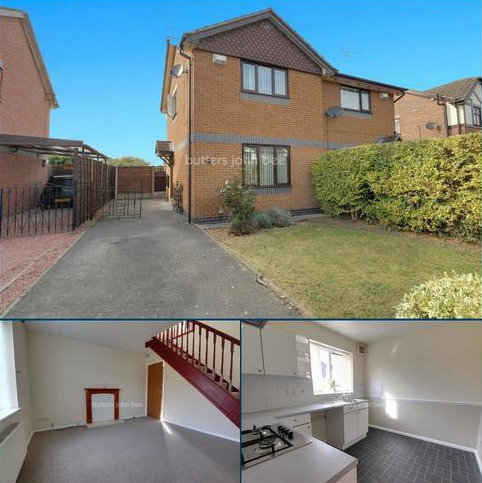 2 bedroom semi-detached house for sale - Kestrel Drive, Crewe