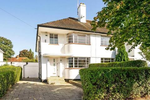 4 bedroom semi-detached house for sale - Ludlow Way, Hampstead Garden Suburb, London, N2