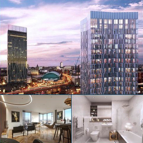 1 bedroom flat for sale - Great Jackson Street, Manchester, M50