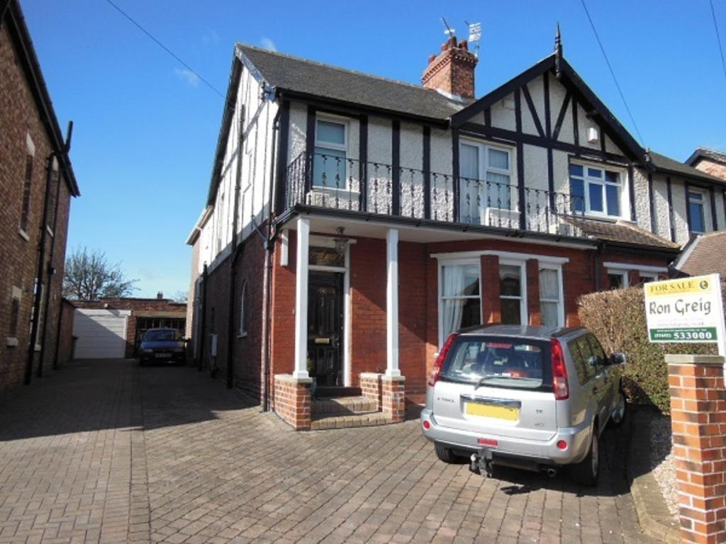 3 Bedrooms Semi Detached House for sale in Allendale Road, Grangefield, Stockton On Tees TS18