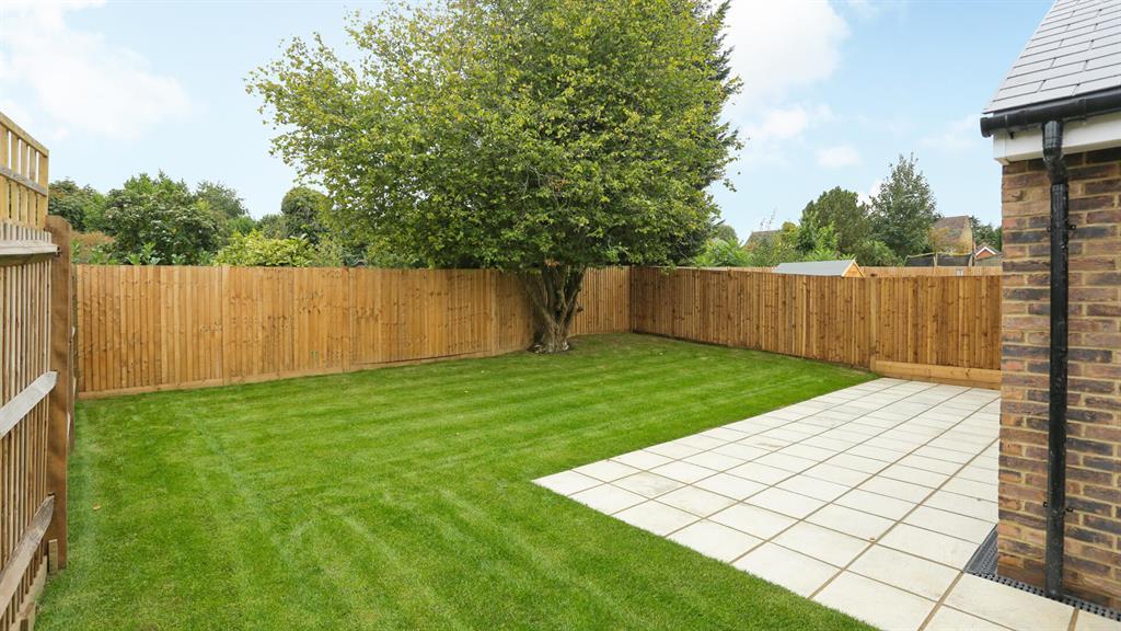 Plot 5 rear garden