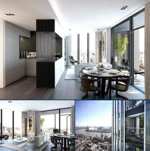 1 bedroom apartment for sale - The Madison Marsh Wall London