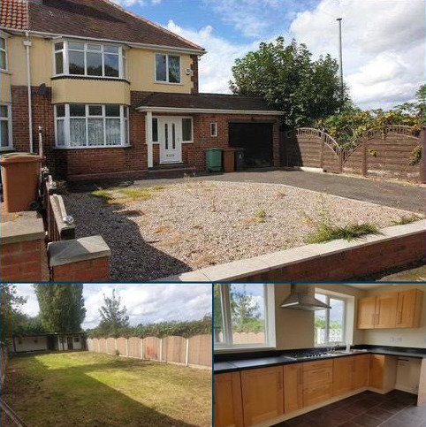 3 bedroom semi-detached house to rent - Delves Green Road, Walsall
