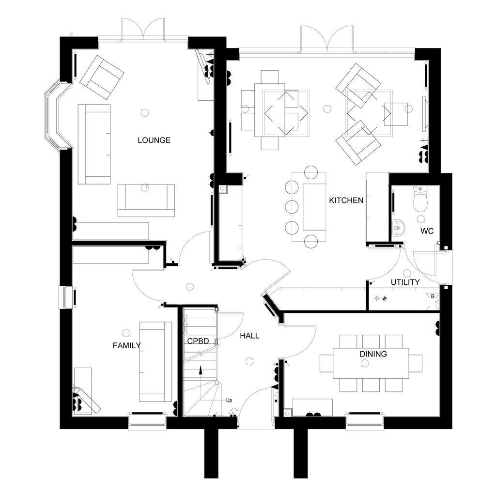 Floorplan 1 of 2: Tunstall First Floor plan