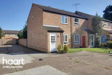 2 bedroom end of terrace house for sale - Varden Close, Chelmsford