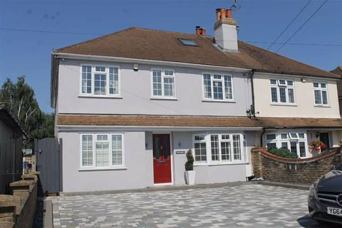 5 bedroom semi-detached house for sale - Main Road, Longfield Hill