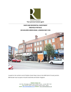 Shop for sale - Golders Green Road, London NW11
