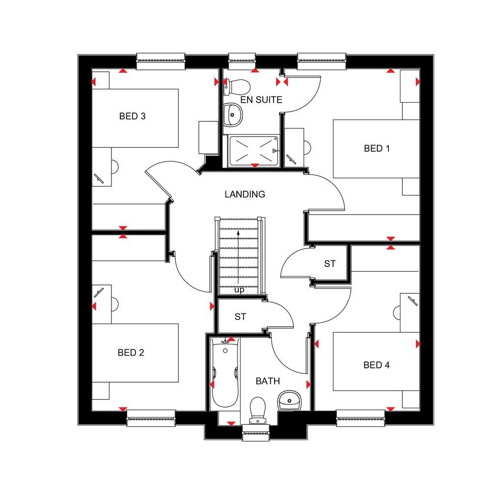 Floorplan 2 of 2: Fenton 2018 floorplan layout September 2019