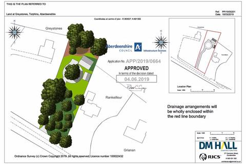 Plot for sale - Plot East Of Greystones, Torphins, Banchory, AB31