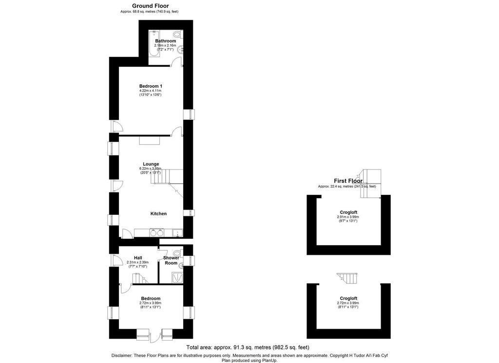 Floorplan 3 of 3: Pwll Melyn, Rhiw, Pwllhelix.jpg
