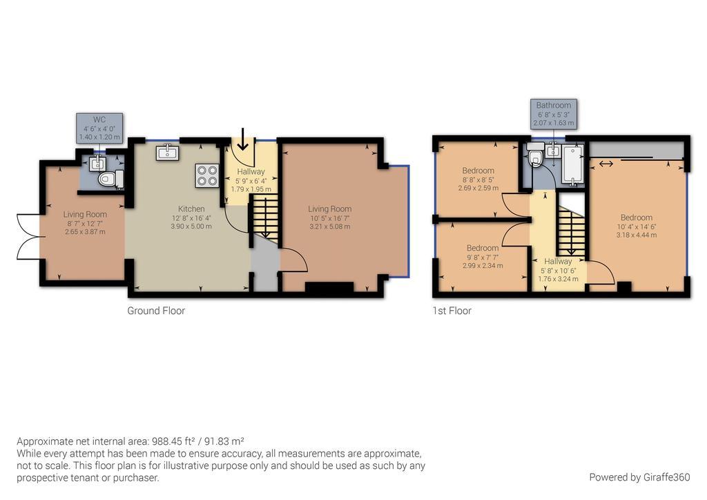 Floorplan 1 of 3: Full house