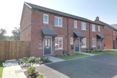 3 bedroom end of terrace house for sale - John Jobson Road, Shavington, Crewe