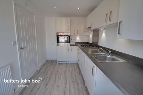 3 bedroom end of terrace house for sale - John Jobson Road, Shavington, Crewe