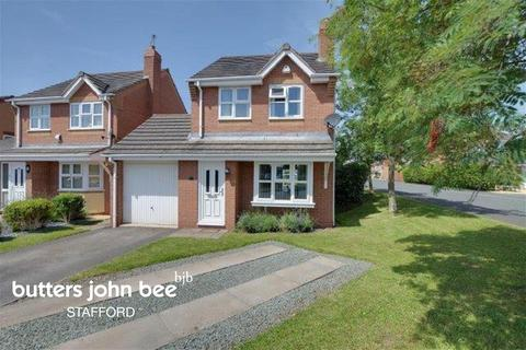 3 bedroom detached house for sale - Romney Drive, Stafford