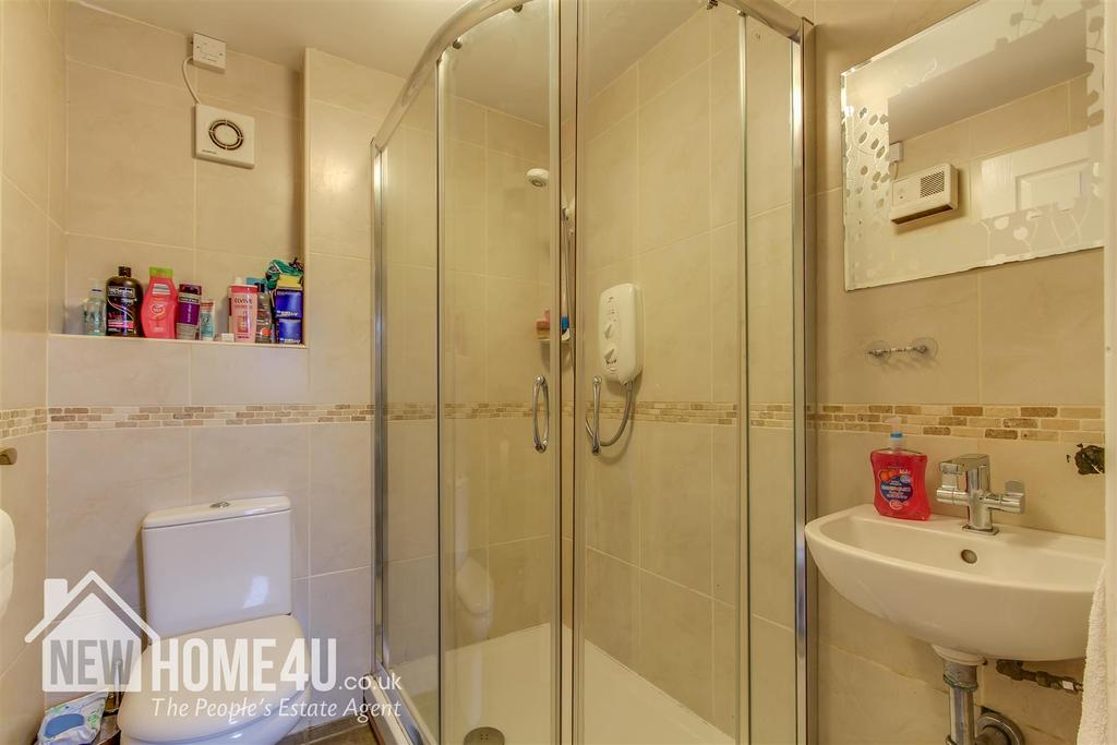 Downstairs shower room:
