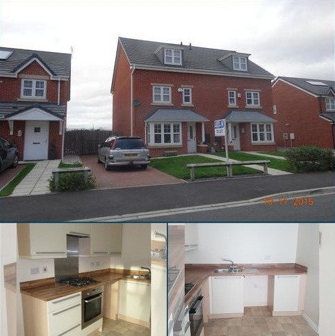 4 bedroom semi-detached house to rent - ATLANTIC CRESCENT, THORNABY, STOCKTON TS17