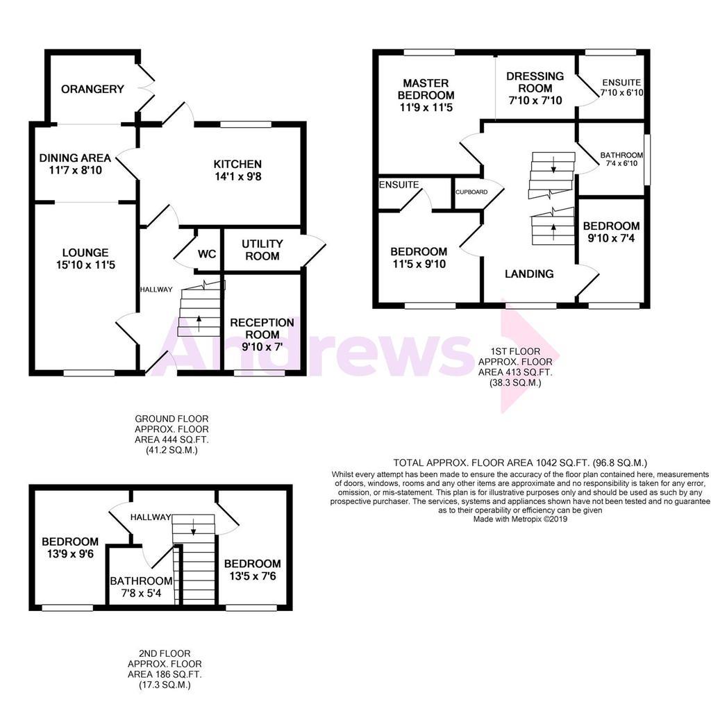 Floorplan: 36 The Mead