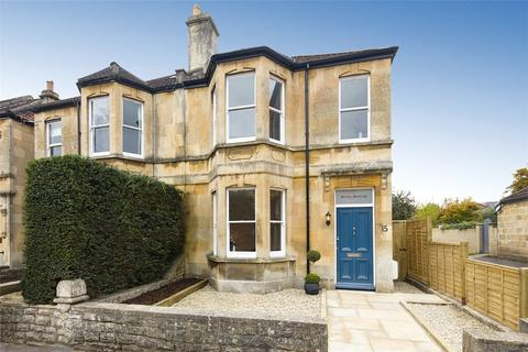 4 bedroom semi-detached house for sale - Evelyn Road, Bath, Somerset, BA1