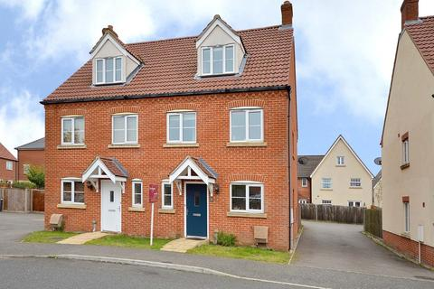 3 bedroom semi-detached house for sale - Peregrine Mews, Cringleford