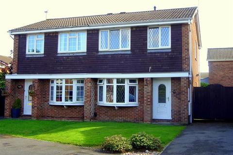 3 bedroom semi-detached house for sale - ABBOT CLOSE, OAKWOOD