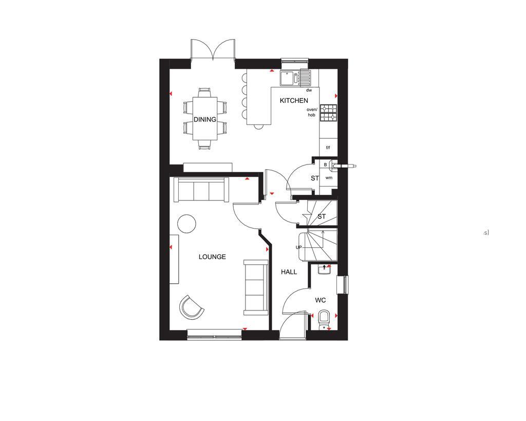 Floorplan 1 of 2: The Chester